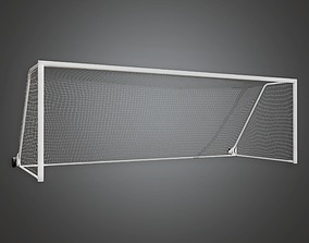 3D asset Soccer Goal 01a - Sports And Gym