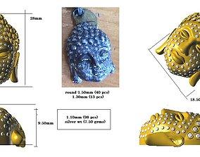 3D print model GAUTAM BUDDHA PENDANT
