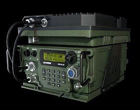 3D asset Wideband Military Radio