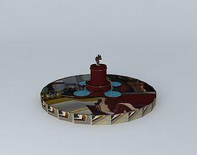 Pipila roundabout San Miguel de Allende 3D