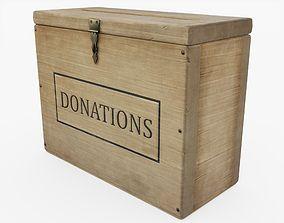 3D model Donation Box