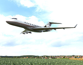 Bombardier BD-700 3D model