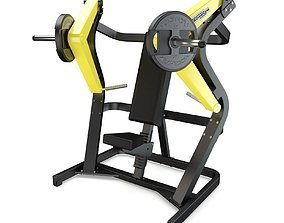Technogym - Plate Loaded - Chest Press 3D model