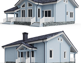 Private house 3D model 013