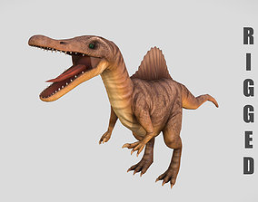 Rigged Spinosaurus Character 3D model