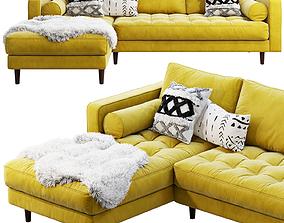 Article Sven Sectional Sofa 3D model