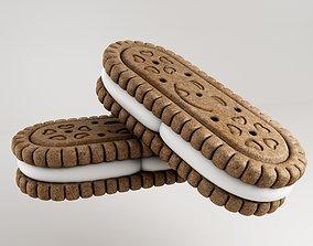 v-ray Biscuit 3d model