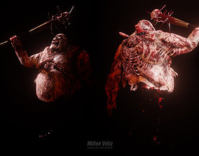 Zombie Boss Character 3D model animated
