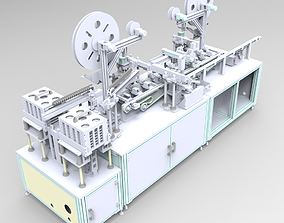 3D Automatic cutting and automatic feeding assembly line