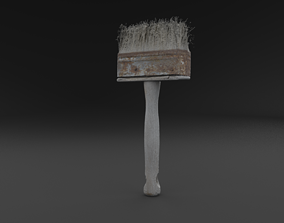 Scanned Brush RAW SCAN 3D