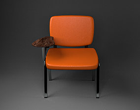 Conference Chair 3D model game-ready