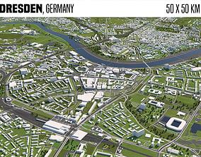 3D model Dresden Germany