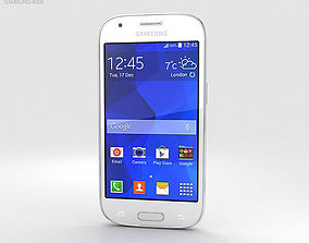 3D model Samsung Galaxy Ace Style LTE White