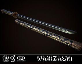 3D model Wakizashi Cane
