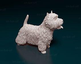 dog West highland white terrier 3D printable model