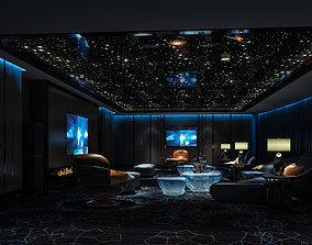 hotel 3D model Video room