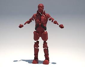 Futuristic armor 3D printable model