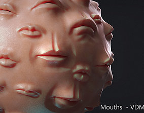 3D Zbrush - Mouths and Lips - VDM Brushes