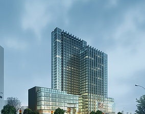Posh Condominiums in Downtown 3D model