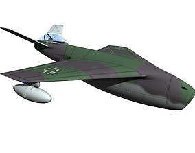 Messerschmitt P1106 3D model