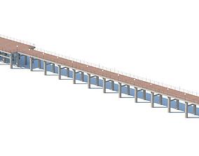 pier bridge 3D