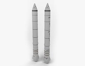 3D model Solid Rocket Booster