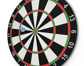 Target and Darts Game 3D