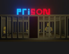 Prison Police Lego Building 3D model