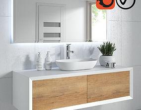 Bathroom furniture FURORE 3D