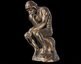 3D model The Thinker Sculpture