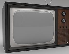 television 3D model Retro TV