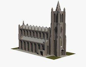 Church 3D model VR / AR ready