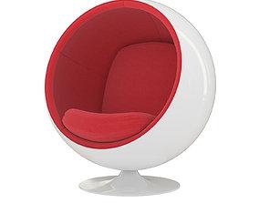 Eero Aarnio Ball Chair 1963 3D