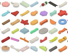 Over 40 Chopstick Rests 3D print model