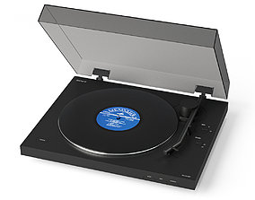 3D SONY Turntable PS-LX310BT