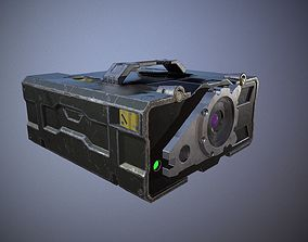 Military rangefinder 3D asset