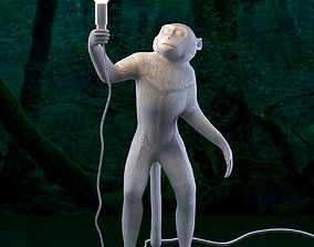 3D model SELETTI The Monkey Lamp Standing lamp