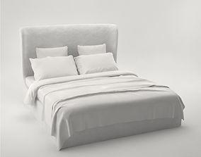 Pro - Meridiani Loren Ghost Bed 3D model