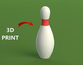 Bowling Pins 3D print model