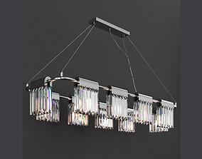 Chandelier Crystal Pendants 10 Loft-Concept 3D model