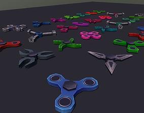 3D model Fidget Spinner Pack