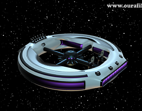 3D model Space Base