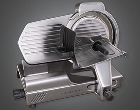 3D model Industrial Meat Slicer KTC - PBR Game