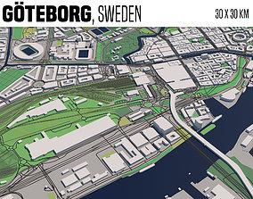 3D model Goeteborg Sweden