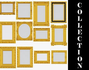 3D model 12 Classic Frames Collection