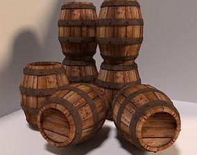 3D model barrel Barrel