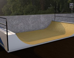 3D model Mini Ramps Skateboarding