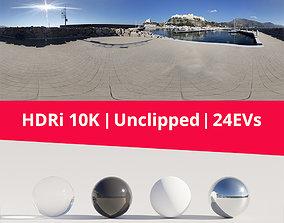 3D HDRi - Port Landscape and Sun