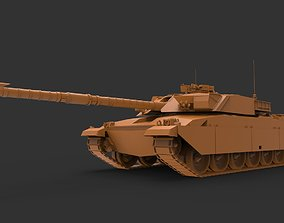 Challenger 1 3D printable model