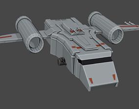 Warplane 3D asset